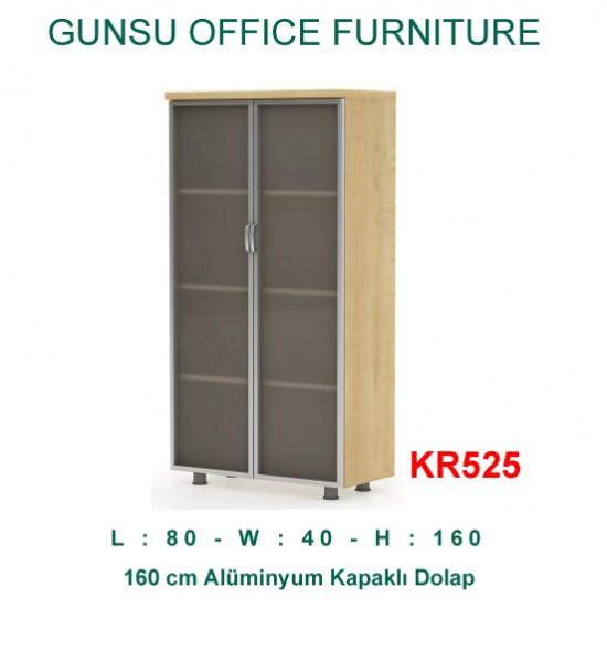 KR525 160X80 Profil Kapaklı Dosya Dolabı