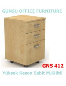 GNS 412 Sabit Ayaklı Keson